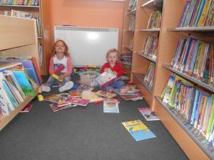 Fun in Glin Library